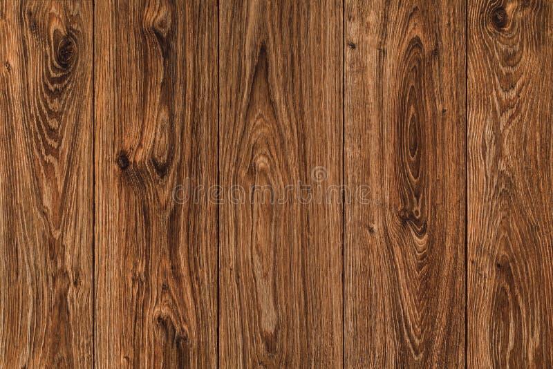 Fondo de madera del tablón de la textura, madera de madera de Brown, pared vieja imágenes de archivo libres de regalías