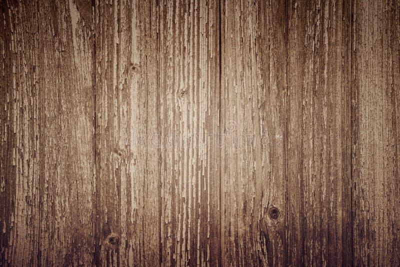 Fondo de madera del tablón, tableros verticales marrones, textura de madera, tabla vieja y x28; piso, wall& x29; , vintage imagenes de archivo