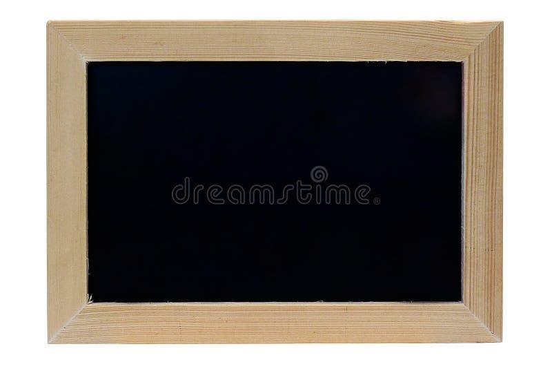 Fondo de madera en blanco del blanco del aislante del marco de la foto fotografía de archivo libre de regalías