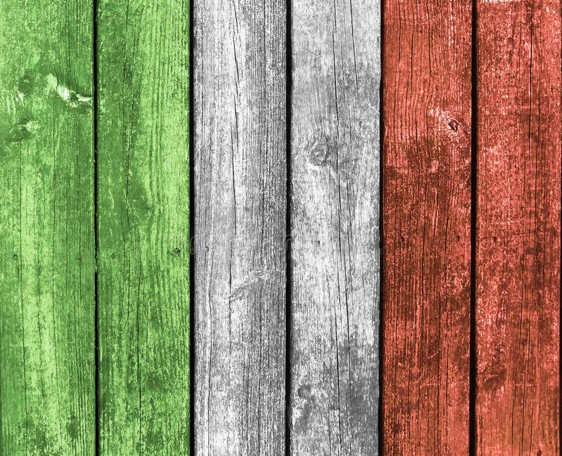 Fondo de madera en 3 colores fotografía de archivo libre de regalías
