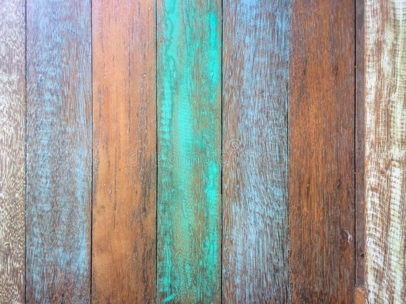 Fondo de madera en colores pastel de la textura del material de los tablones fotografía de archivo