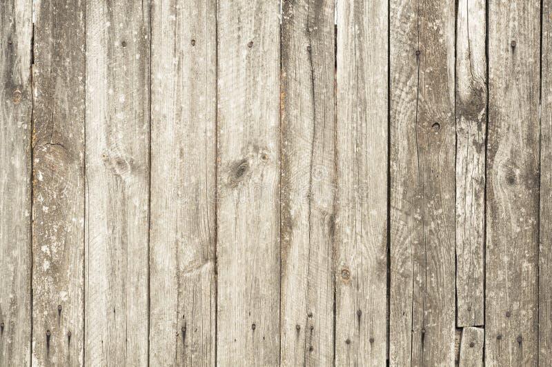 Fondo de madera gris de la textura Tablones viejos foto de archivo