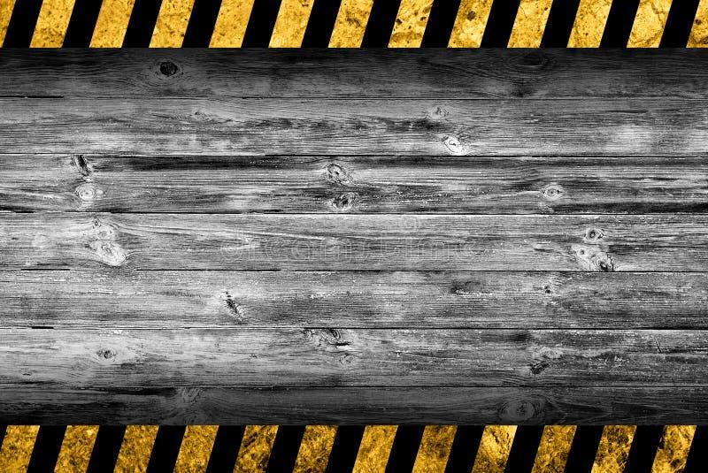 Fondo de madera gris del Grunge con las rayas amonestadoras imagenes de archivo