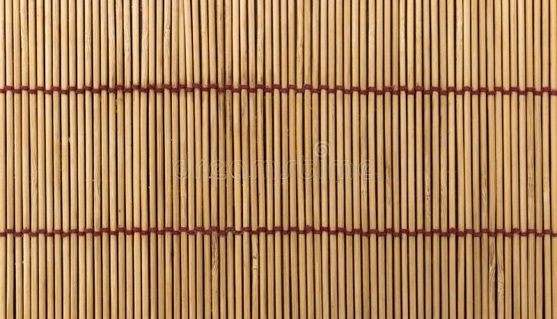Fondo de madera japonés de la estera imágenes de archivo libres de regalías