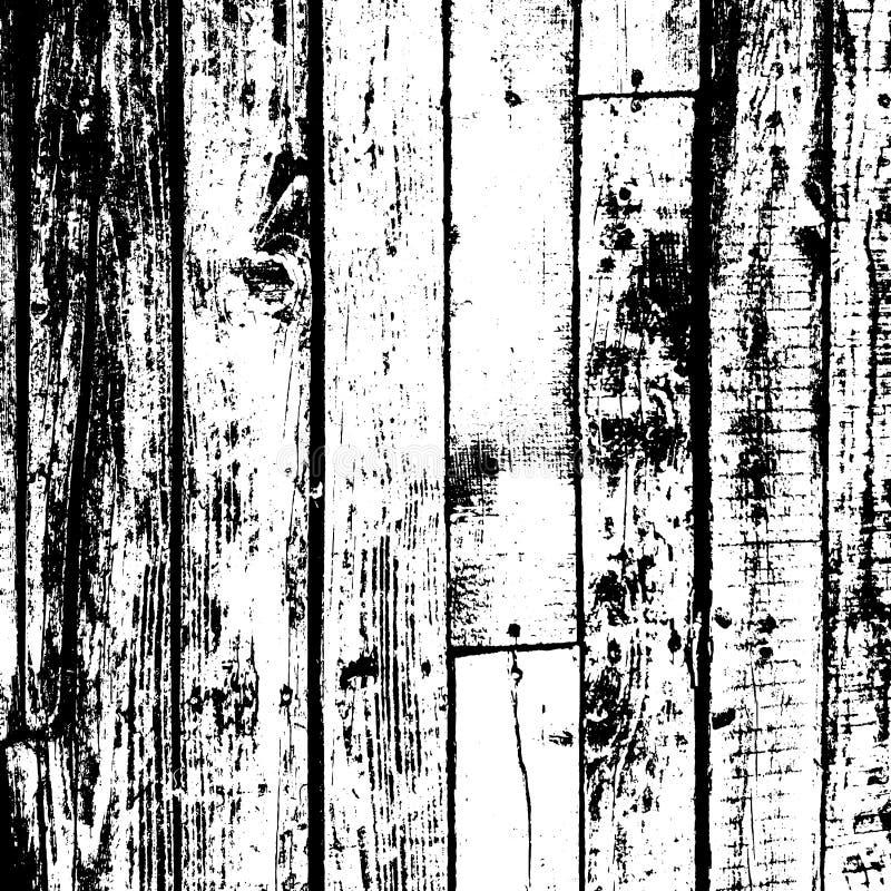 Fondo de madera de la desolación stock de ilustración