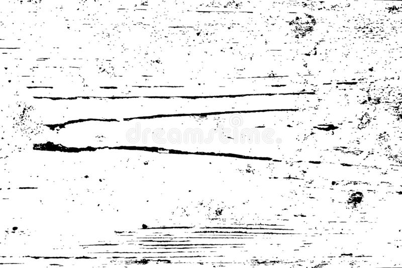 Fondo de madera de la desolaci?n stock de ilustración