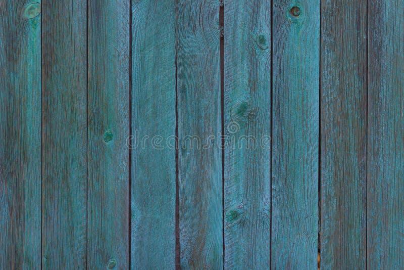 Fondo de madera de la pared del viejo color azul Lugar para el texto imágenes de archivo libres de regalías