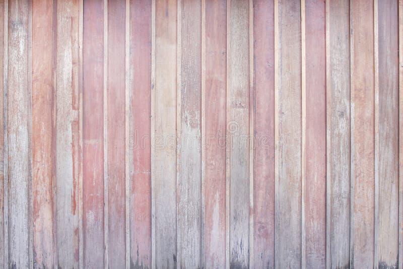 Fondo de madera de la pared del vintage colorido, modelos naturales abstractos en vertical imágenes de archivo libres de regalías