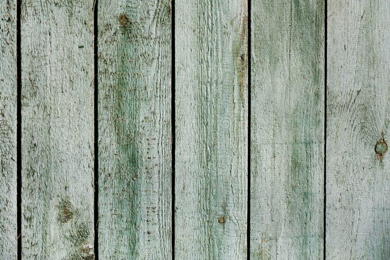 Fondo de madera de la pared de los tablones del verde menta del vintage viejo fotografía de archivo libre de regalías