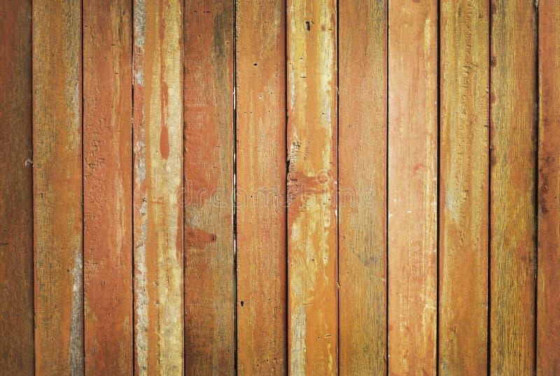 Fondo de madera de la pared de los tablones del vintage, textura de la madera de la corteza con el viejo modelo natural para el t imagen de archivo libre de regalías