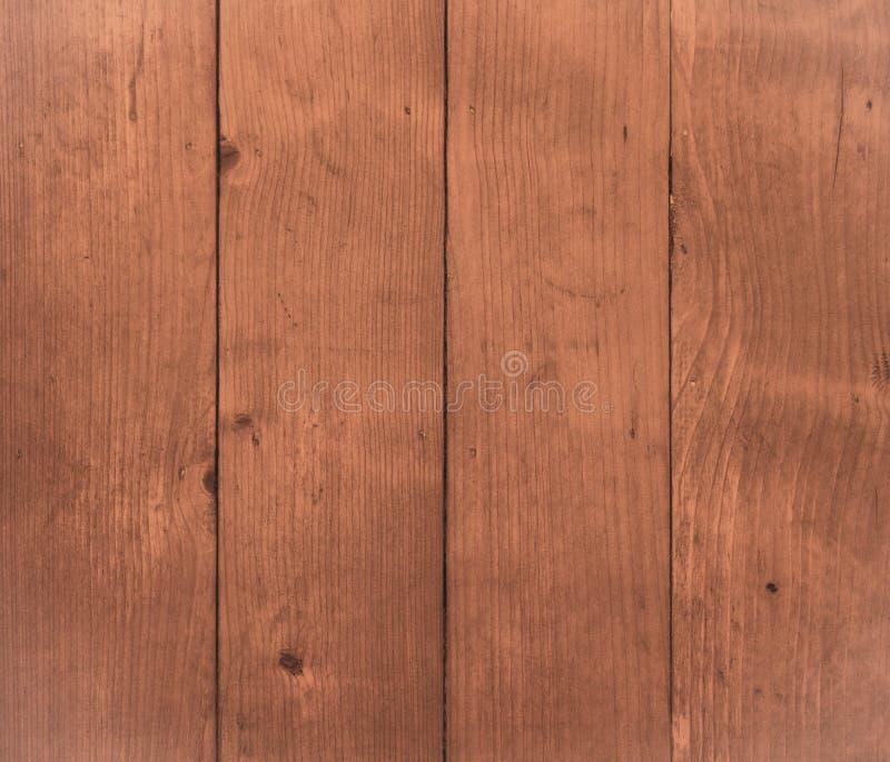 Fondo de madera de la textura de Brown, luz de madera del vintage del tablón de la tabla fotografía de archivo libre de regalías