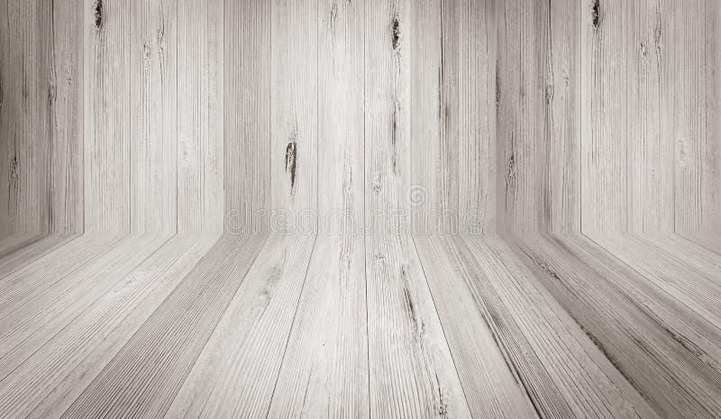 Fondo de madera de la textura del contexto de la pared del color claro de la perspectiva fotos de archivo
