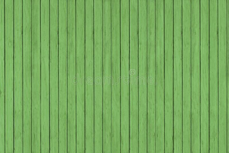 Fondo de madera de la textura del modelo del grunge verde, tablones de madera fotos de archivo libres de regalías