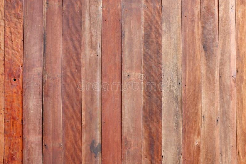 Fondo de madera de la textura del tabl?n de Brown foto de archivo