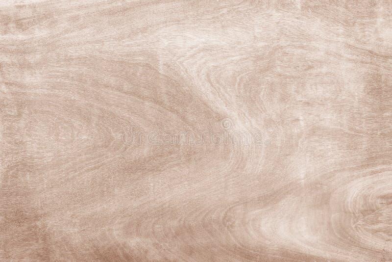 Fondo de madera de la textura de la pared, extracto natural marrón claro de los modelos de onda en horizontal fotografía de archivo libre de regalías