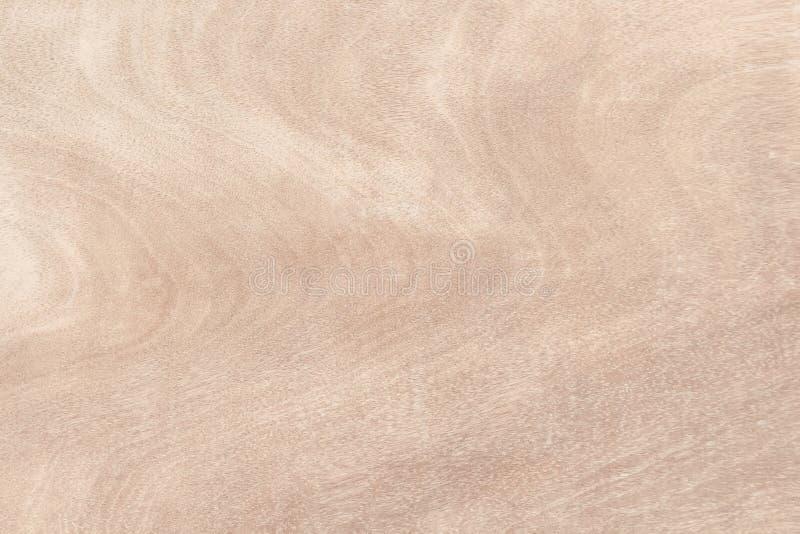 Fondo de madera de la textura de la pared, extracto natural marrón claro de los modelos de onda en horizontal foto de archivo libre de regalías
