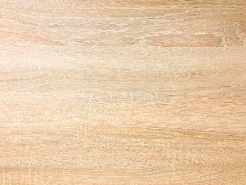 Fondo de madera de la textura, roble ligero de madera rústico apenada resistida con la pintura descolorada del barniz que muestra foto de archivo