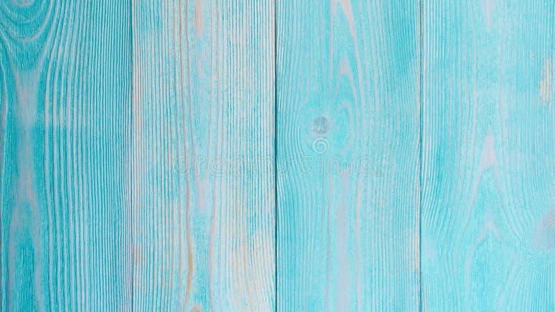 Fondo de madera de la turquesa imágenes de archivo libres de regalías