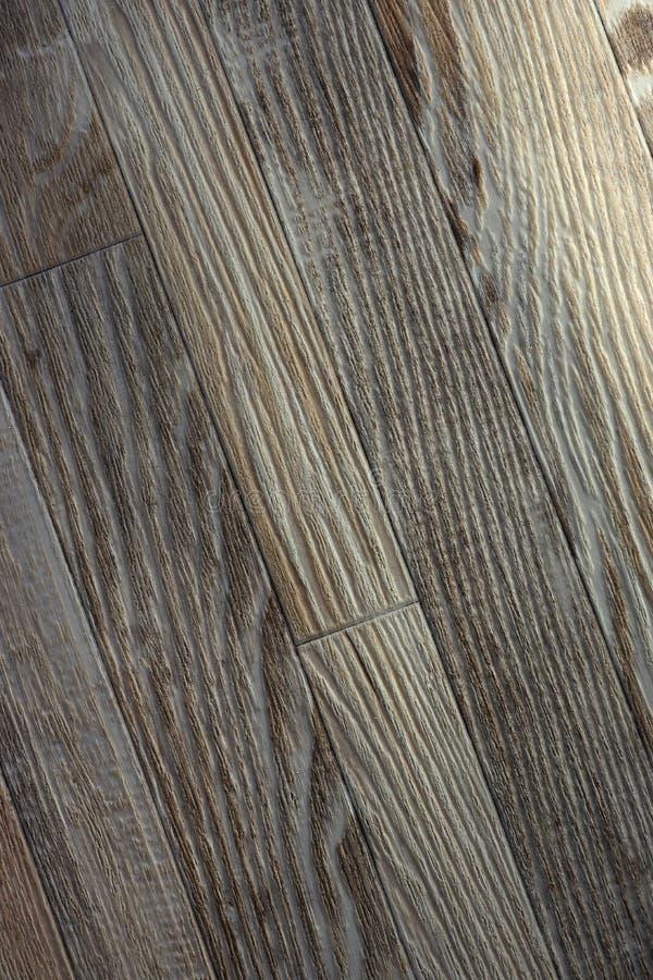 Fondo de madera Lamina, imitación del entarimado envejecido hecho de la madera foto de archivo libre de regalías