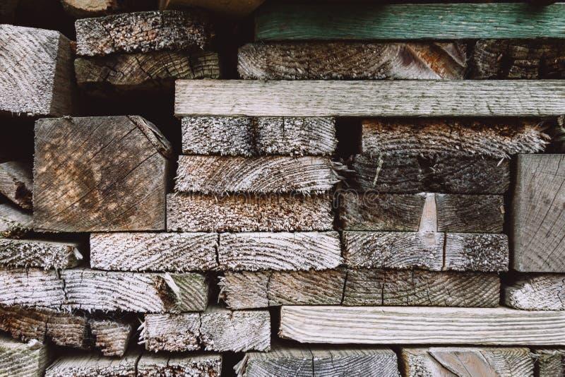 Fondo de madera de los bloques Textura de madera, fondo ecol?gico imagen de archivo libre de regalías