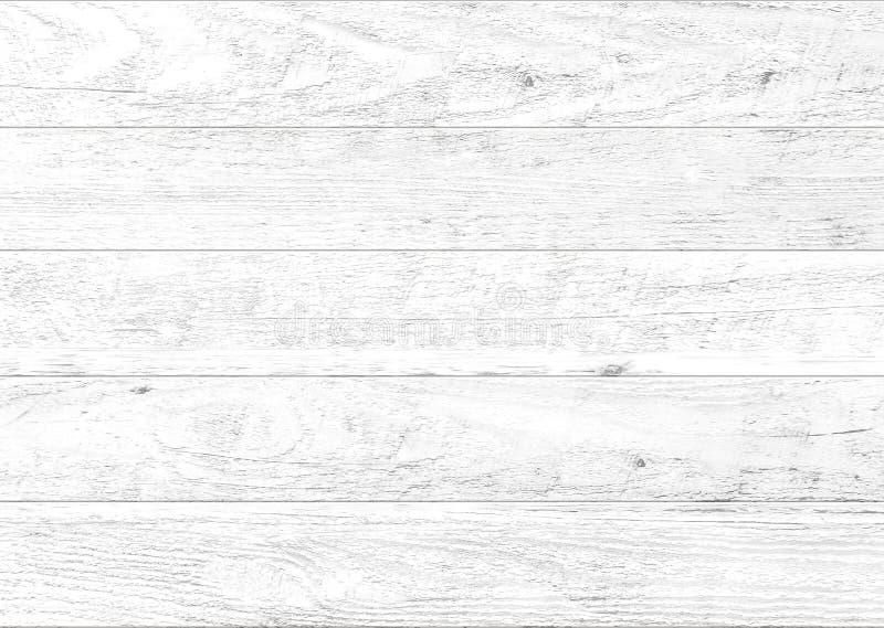 Fondo de madera natural blanco de la pared Fondo de madera del modelo y de la textura fotos de archivo