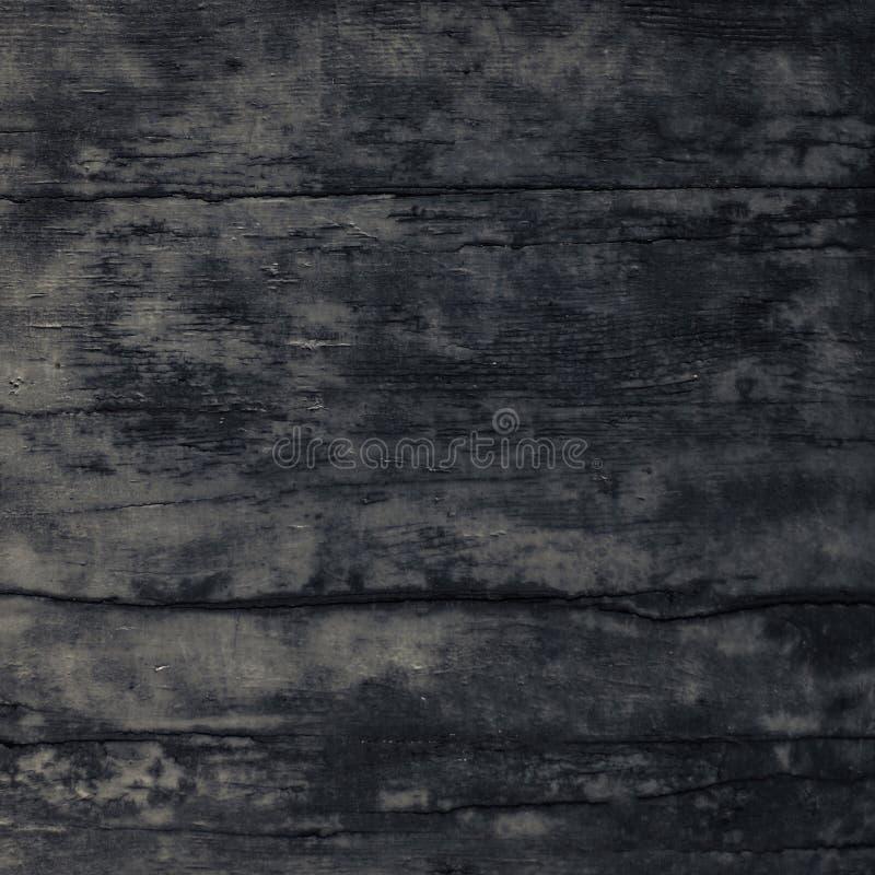 Fondo de madera negro de los tablones o textura de madera fotografía de archivo libre de regalías