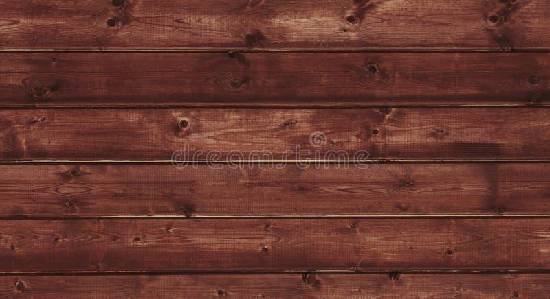Fondo de madera oscuro rústico de la textura de Brown fotografía de archivo libre de regalías
