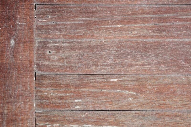 Fondo de madera reclamado r?stico rojo de la pared fotografía de archivo