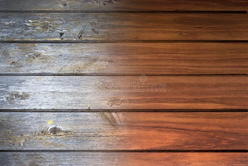 Fondo de madera restablecido fotografía de archivo