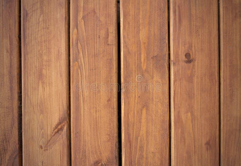 Fondo de madera Textura del grunge de Brown del tablero de madera foto de archivo libre de regalías