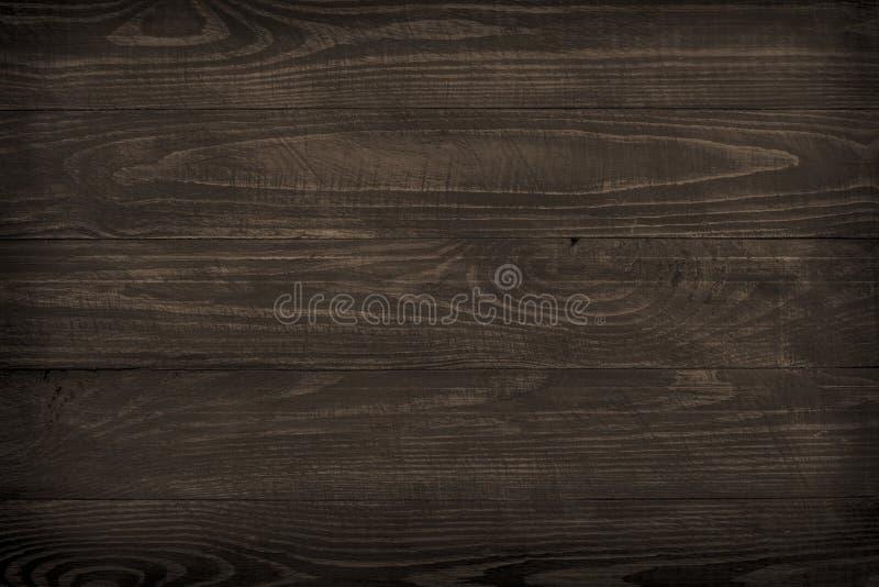 Fondo de madera, textura de madera oscura fotos de archivo libres de regalías