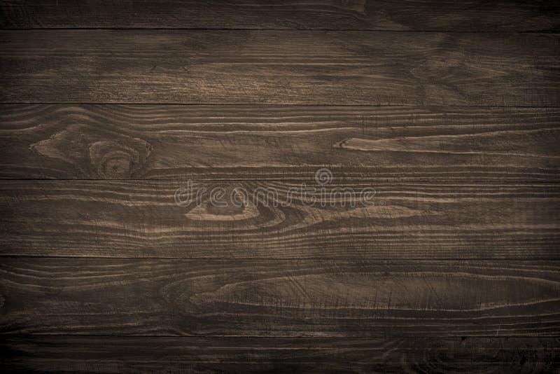 Fondo de madera, textura de madera oscura imagenes de archivo