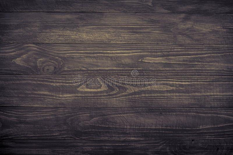 Fondo de madera, textura de madera oscura fotografía de archivo