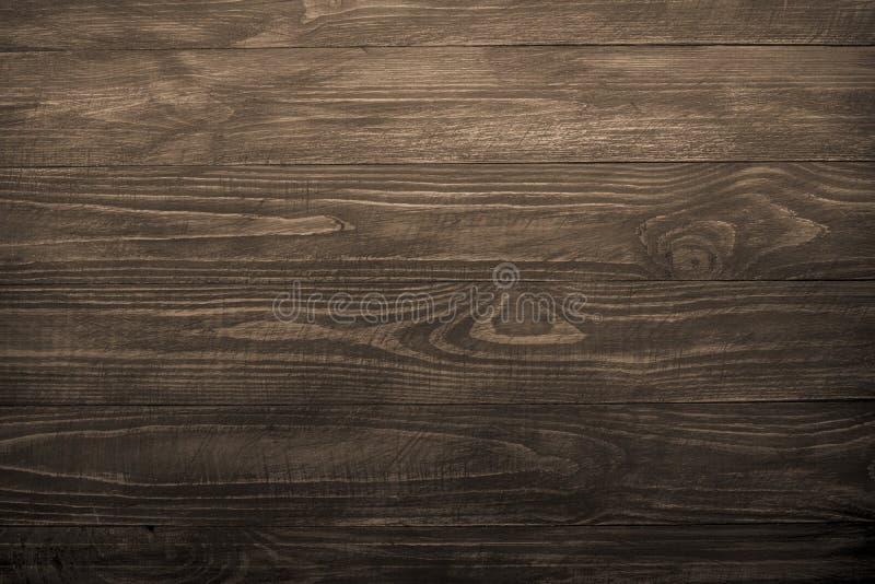 Fondo de madera, textura de madera oscura imagen de archivo libre de regalías