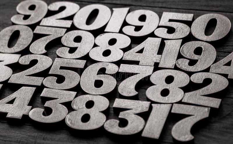 Fondo de números a partir la cero a nueve Fondo con números Textura de los números Concepto de las matemáticas foto de archivo libre de regalías