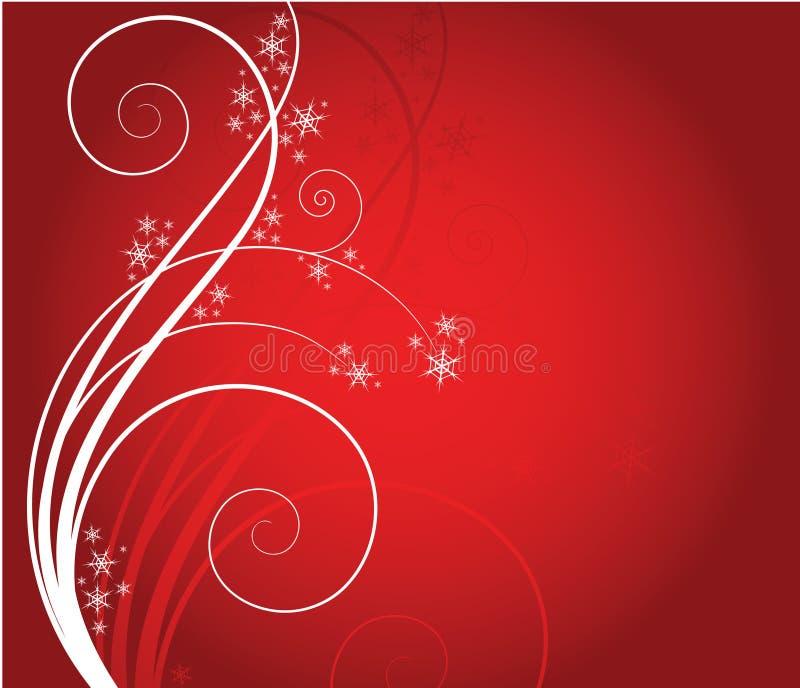Fondo de Navidad ilustración del vector