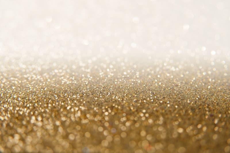 Fondo de oro del brillo foto de archivo libre de regalías
