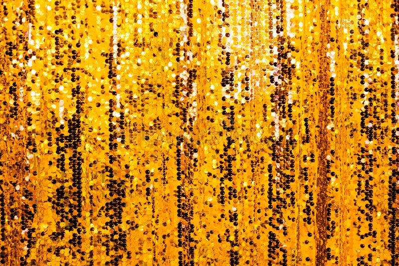 Fondo de oro hermoso del brillo imagen de archivo