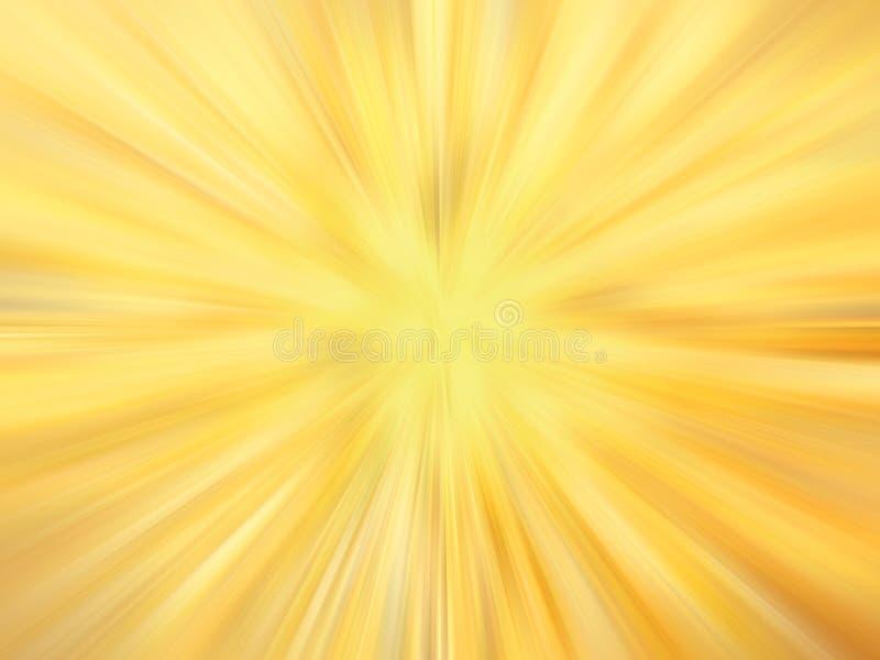 Fondo de oro soleado radiante libre illustration