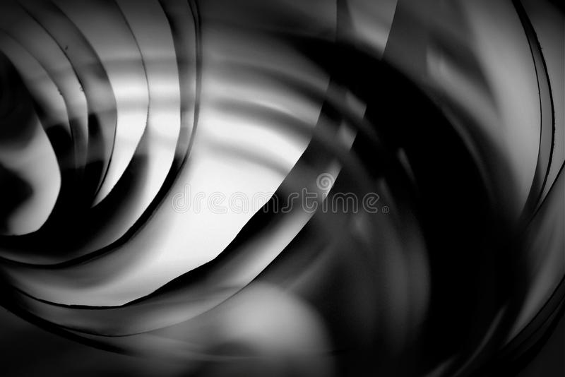 Fondo de papel blanco y negro del extracto de la forma fotografía de archivo libre de regalías