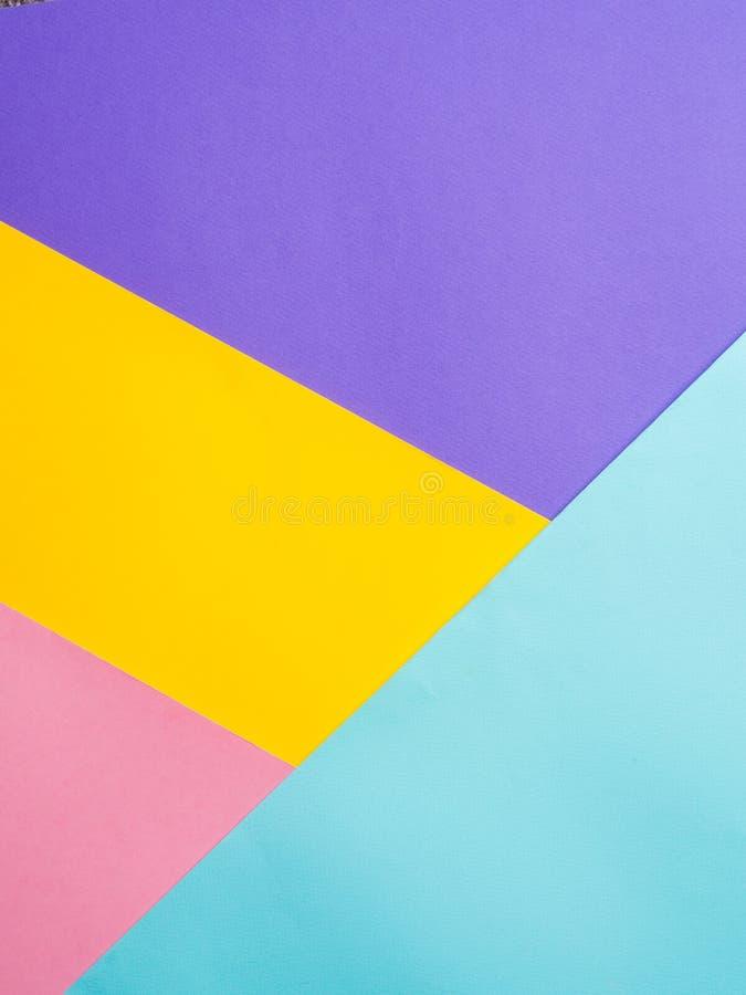 Fondo de papel coloreado colorido imagen de archivo