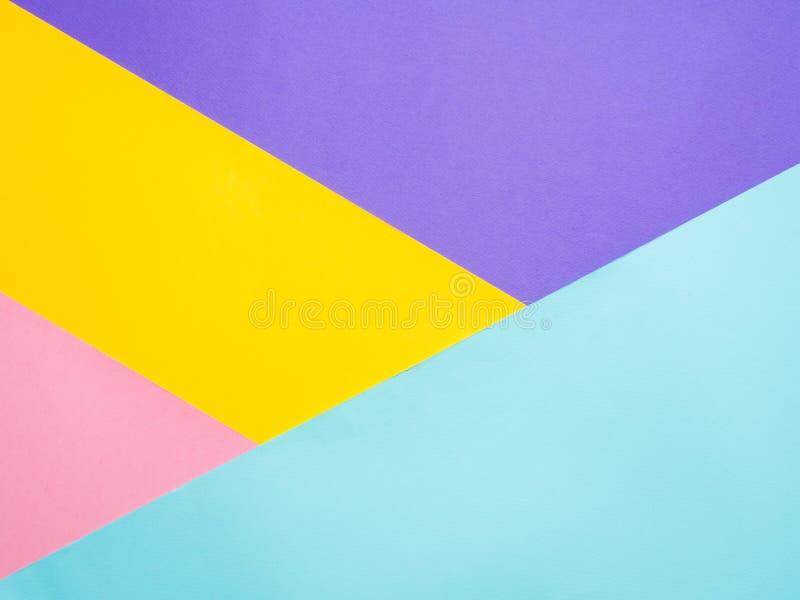 Fondo de papel coloreado colorido foto de archivo