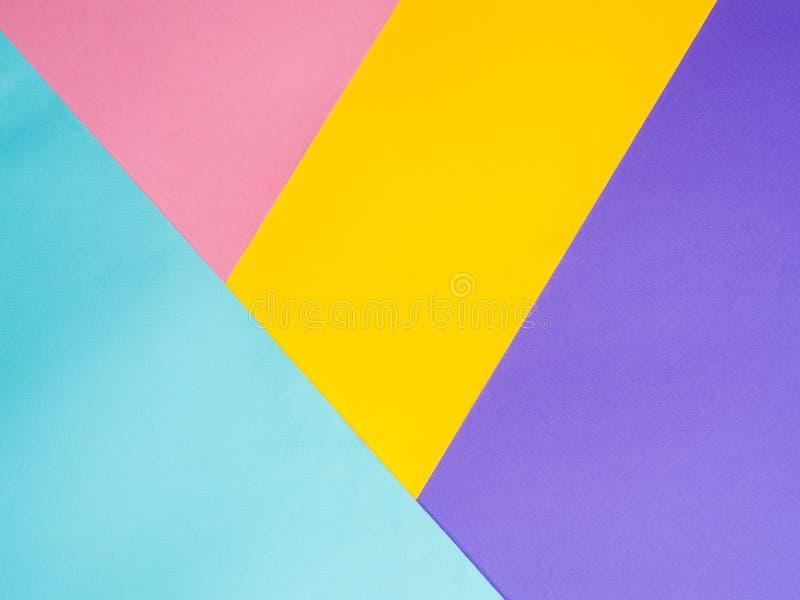Fondo de papel coloreado colorido imagen de archivo libre de regalías