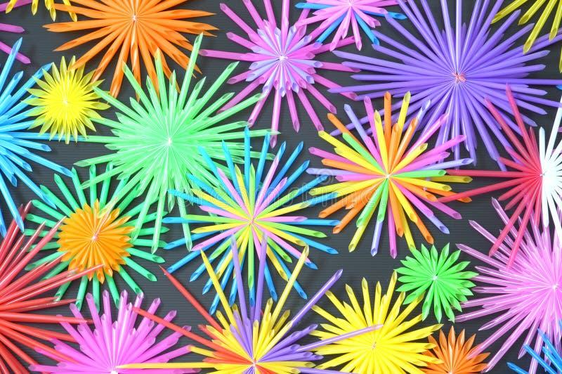 Fondo de papel colorido stock de ilustración