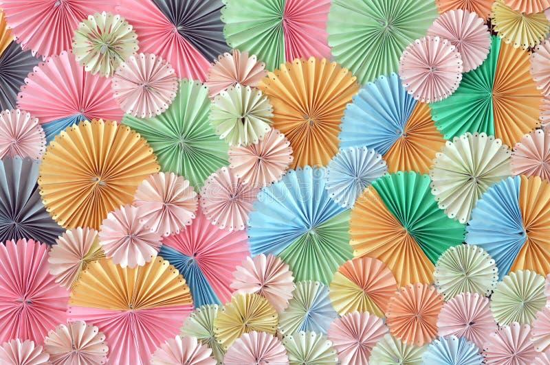 Fondo de papel colorido ilustración del vector
