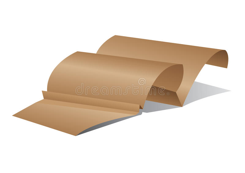 Fondo del papel del vector de Origami stock de ilustración