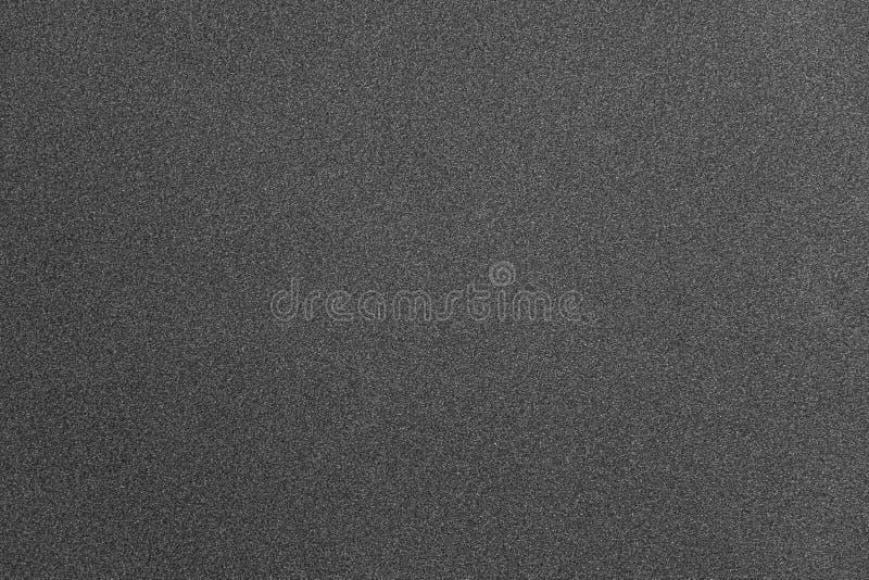 Fondo de papel granoso gris de la textura del extracto imagenes de archivo