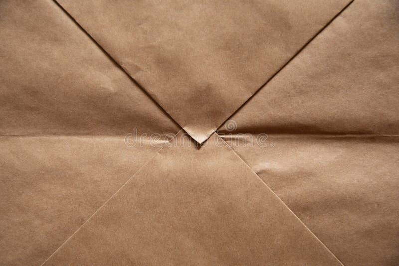 Fondo de papel marr?n claro imagenes de archivo
