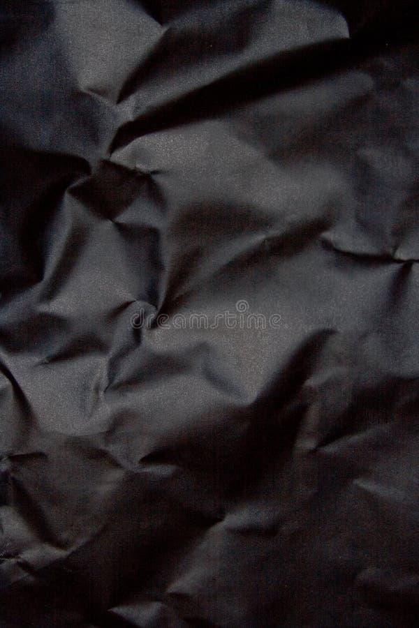 Fondo de papel negro fotografía de archivo