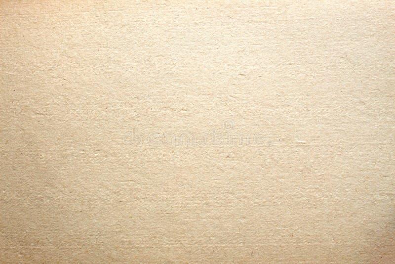 Fondo de papel obsoleto del color amarillo claro de la textura fotos de archivo